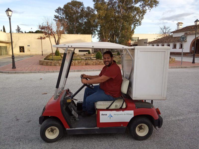 Puesta en funcionamiento carrito de golf